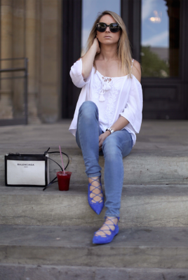 see by chloé off shoulder blouse